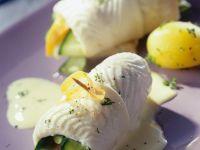 Schollenrouladen mit Gemüse gefüllt Rezept