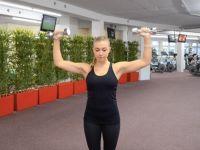Oberkörpertraining: Schulterdrücken
