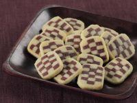 Schwarz-Weiß-Kekse herstellen Rezept