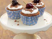 Schwarzwälder Kirsch Cupcakes Rezept