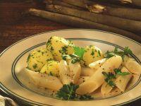 Schwarzwurzeln mit Petersilienkartoffeln Rezept