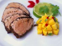 Schweinefilet mit fruchtiger Salsa Rezept