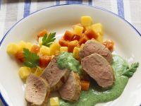 Schweinefilet mit Gemüse Rezept