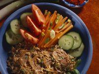 Schweinefilet mit Gemüsereis Rezept
