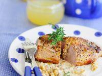 Schweinefilet mit Gorgonzolafüllung Rezept