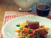 Schweinefilet mit Möhren Rezept