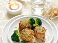 Schweinefilet mit Nusskruste und Brokkoli Rezept