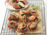 Schweinefiletwickel mit Zucchini und Aubergine Rezept