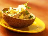 Schweinefleisch in Kokos-Bananensauce Rezept