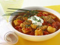 Schweinefleisch-Kartoffel-Gulasch Rezept
