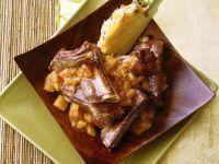 Schweinerippchen mit Ananassauce Rezept
