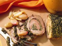 Schweinerollbraten mit Kräutern Rezept
