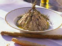 Schwertfisch-Creme Rezept