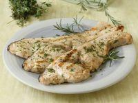 Schwertfisch vom Grill mit Kräutern Mariniert Rezept