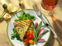 Schwertfischsteaks mit Tomaten Rezept