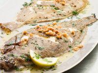 Seezunge mit Krabben und Petersilien-Butter Rezept