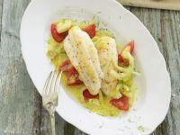 Seezunge mit Tomaten und Fenchel Rezept