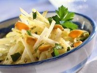 Sellerie-Apfelsalat Rezept