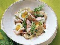 Semmelknödel-Wurst-Salat Rezept