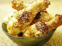 Sesam-Hähnchenkeulen Rezept