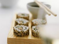 Sesam-Sushi Rezept