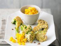 Brokkoli im Sesammantel mit Mango Rezept