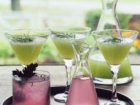 Shiso- und Gurkendrink Rezept