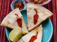 Shrimp-Enchiladas mit Salsa Rezept