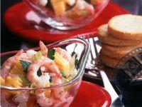 Shrimps-Ananas-Salat Rezept