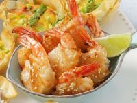 Shrimps im Knusperteig Rezept