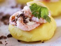 Shrimps mit Kartoffelbrei Rezept