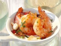 Shrimps mit Knoblauch Rezept