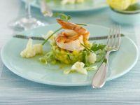 Shrimps mit Mango-Avocado-Salat Rezept