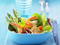 Shrimps-Spargel-Salat Rezept