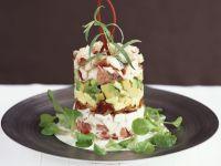 Shrimpssalat mit Avocado Rezept