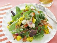 Shrimpssalat mit Mango und Tomaten Rezept