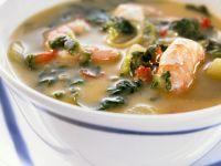 Shrimpssuppe auf kreolische Art Rezept