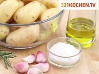 Simple Rosmarinkartoffeln