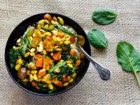 Soja-Gemüse-Curry Rezept