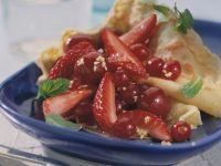 Sommerfrüchte-Pfannkuchen Rezept