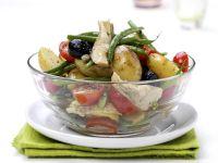 Sommerlicher Gemüsesalat Rezept