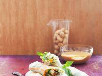 Sommerrollen mit Tofu und Gemüse Rezept