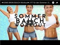 Mit 5 Übungen zum Bikini-Bauch