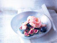 Sorbet aus weißen Pfirsichen Rezept