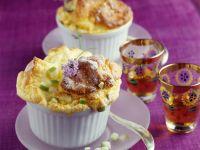 Soufflé mit Apfel und Lavendelhonig