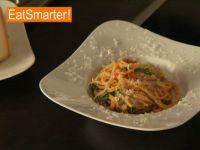 Spaghetti perfekt anrichten