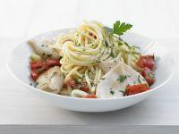 Spaghetti mit Calamaretti Rezept