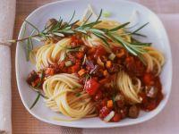 Spaghetti mit Fleischsauce