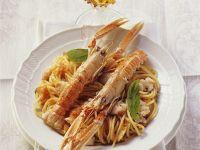 Spaghetti mit Kaisergranat Rezept