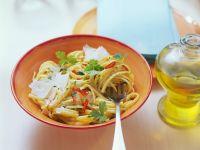 Spaghetti mit Knoblauch Rezept